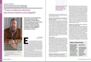 entrevista javier touron