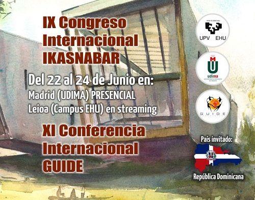 Educación y Tecnología IKASNABAR y el XI Conferencia GUIDE