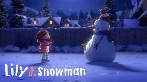 cortometrajes Lily & the Snowman