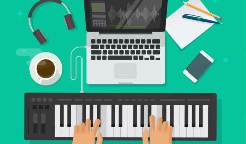 sintetizador para crear música