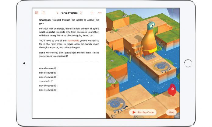 Swift Playgrounds, la app de Apple para aprender a programar 1