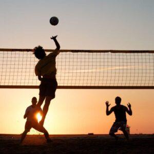 Volley beach Deberes en verano
