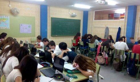 En el IES Dos Mares de San Pedro del Pinatar aprenden sintaxis con las TIC 1