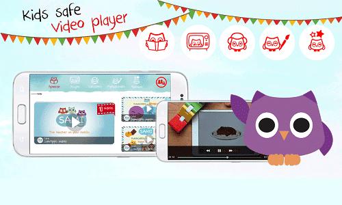 Visualizar vídeos infantiles de forma segura con Sami Apps 4