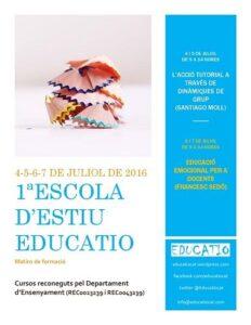 Los eventos educativos del mes de julio 3