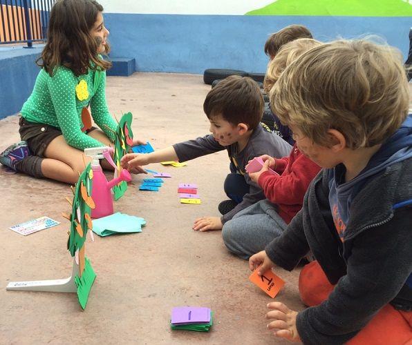 En Platero Green School aprenden matemáticas jugando 1