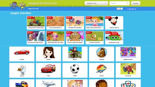 Juegos Infantiles, una web que une diversión y aprendizaje 1