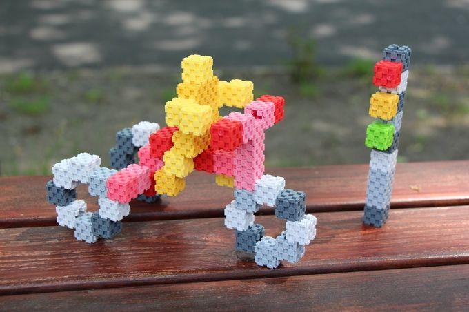 Lini Cube, un nuevo juego de construcciones con piezas 1