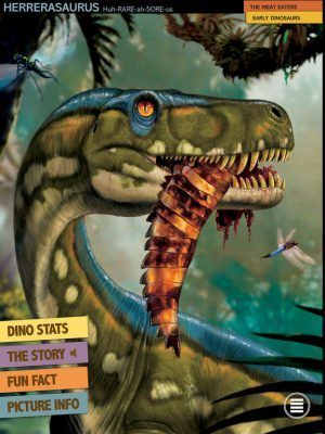Ultimate Dinopedia app