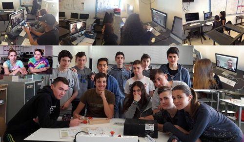 El IES Valdespartera de Zaragoza y Santa Fe High School de EEUU intercambian conocimiento 2