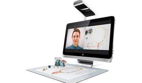 HP Sprout Pro es un ordenador para educación que parece de ciencia-ficción 3