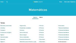 Recursos para aprender y repasar Matemáticas en Bachillerato 9