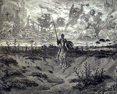Cuadro de El Quijote