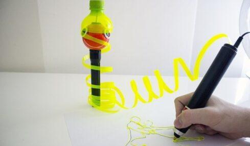 """Renegade es un bolígrafo que """"pinta"""" en plástico... y en 3D 1"""