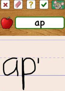 Apps para aprender a escribir desde el tablet 7