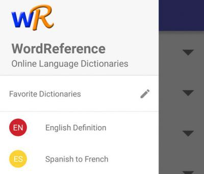Word Reference - apps para traducir