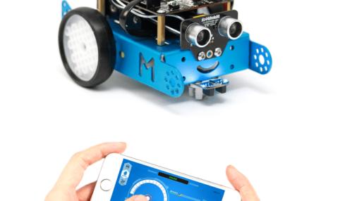 Construir y programar con mBot 1