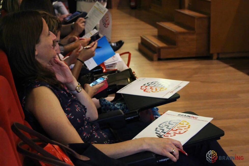 Innovación y hándicaps educativos en el II Congreso Braining