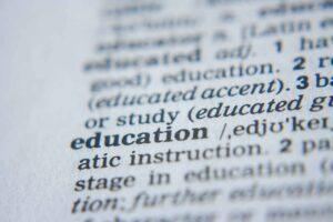 Diccionario educación @ Pixabay