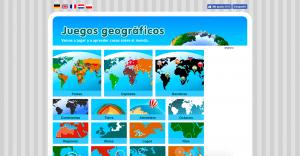 juegos geográficos mapas interactivos