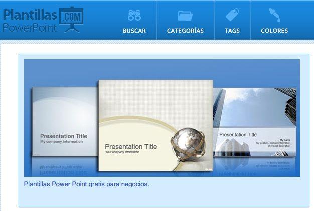 plantillas powerpoint gratis para usar en casa o en clase