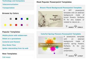 Los mejores sitios para descargar plantillas PowerPoint gratis para usar en clase 5
