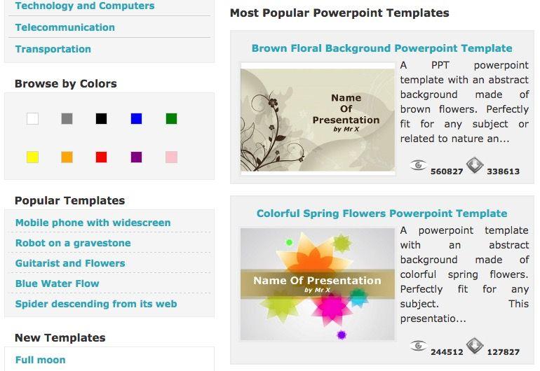 ▷ Plantillas PowerPoint GRATIS para usar en casa o en clase