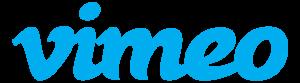 Vimeo logo azul