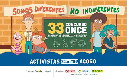 Sesiones interactivas de la ONCE sobre el acoso escolar
