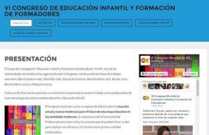VI Congreso de Educación Infantil y formación de formadores