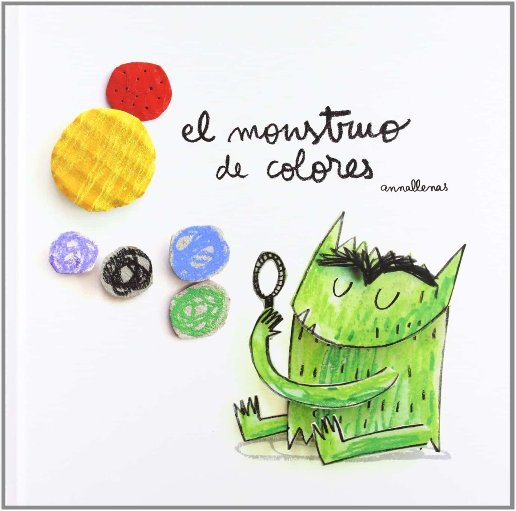 El Monstruo de Colores cuentos infantiles