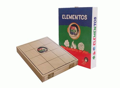 Elementos juegos de mesa educativos