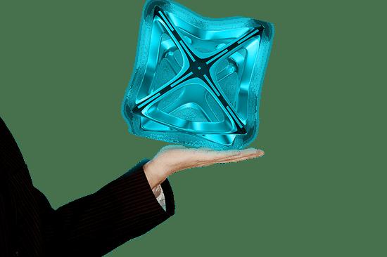 Hologramas mano