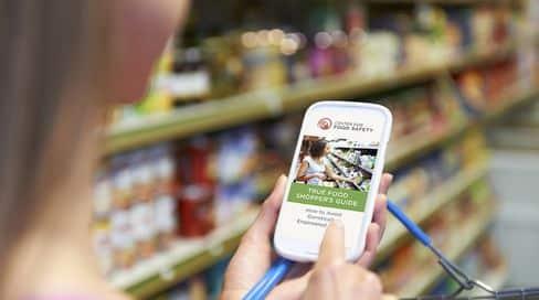 true food shoppers guide app