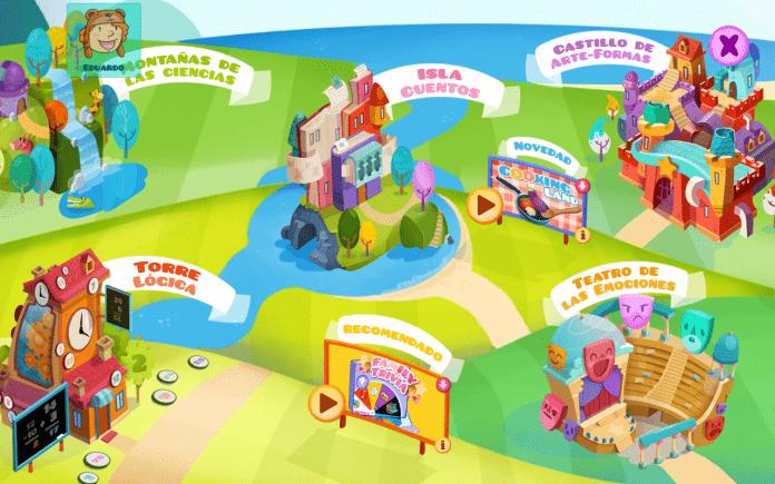 Cuentos y juegos interactivos en la biblioteca de Smile and Learn