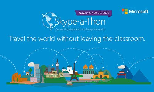 Skype-a-Thon, el reto de Microsoft para conectar a docentes de cualquier parte del mundo 1