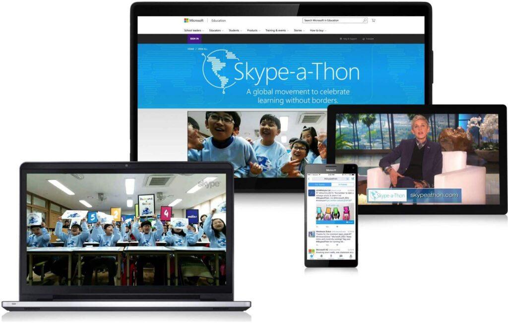 skypeathon 2016 microsoft