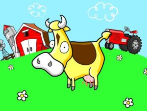 fábula vaca