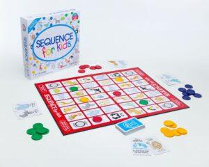 juegos de mesa educativos Secuence for kids