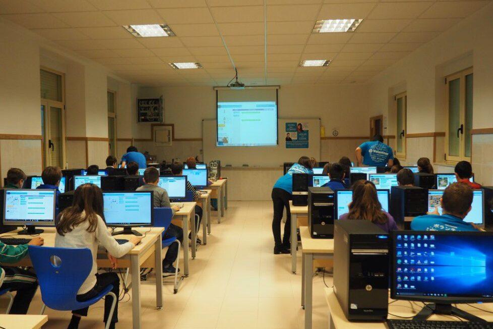HP acerca el mundo de la programación a más de 220 estudiantes en León 1