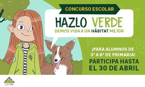 'Hazlo Verde', el concurso escolar para aprender a cuidar el medio ambiente 2