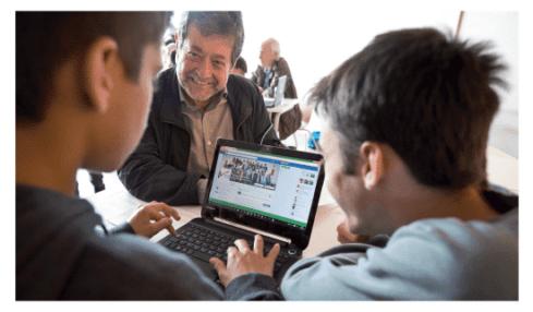 Aprendizaje entre dos generaciones, el proyecto de Facebook y Fundación Pere Tarrés 2