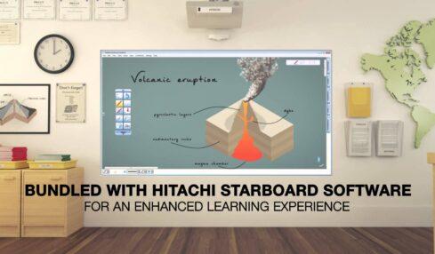 Proyecciones interactivas sin ordenador con Hitachi CP-TW2505 2