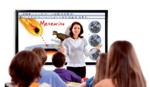 Superficies táctiles de multiCLASS para las necesidades escolares
