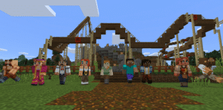 Minecraft_Realms_Multiplayer_Rollercoaster