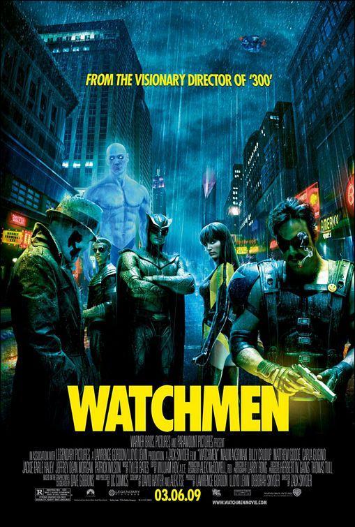 películas basadas en libros Watchmen