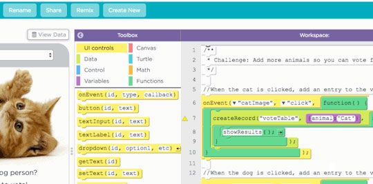 Code.org App Lab