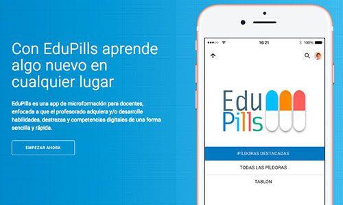 EduPills, la app del INTEF para formar al profesorado con píldoras de información 2