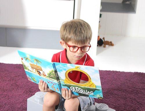 Los niños protagonizan sus cuentos con Mumablue 3