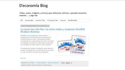 D'Economía blog
